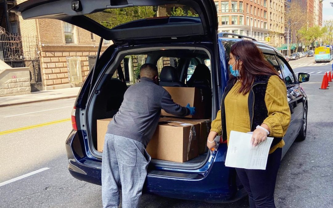 RideAlong During Covid: Helping the Needy in NYC